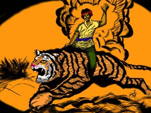 Silayar harimau
